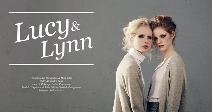 Lucy & Lynn Story By Tim Kiukas and Meri Björn can be seen HERE!
