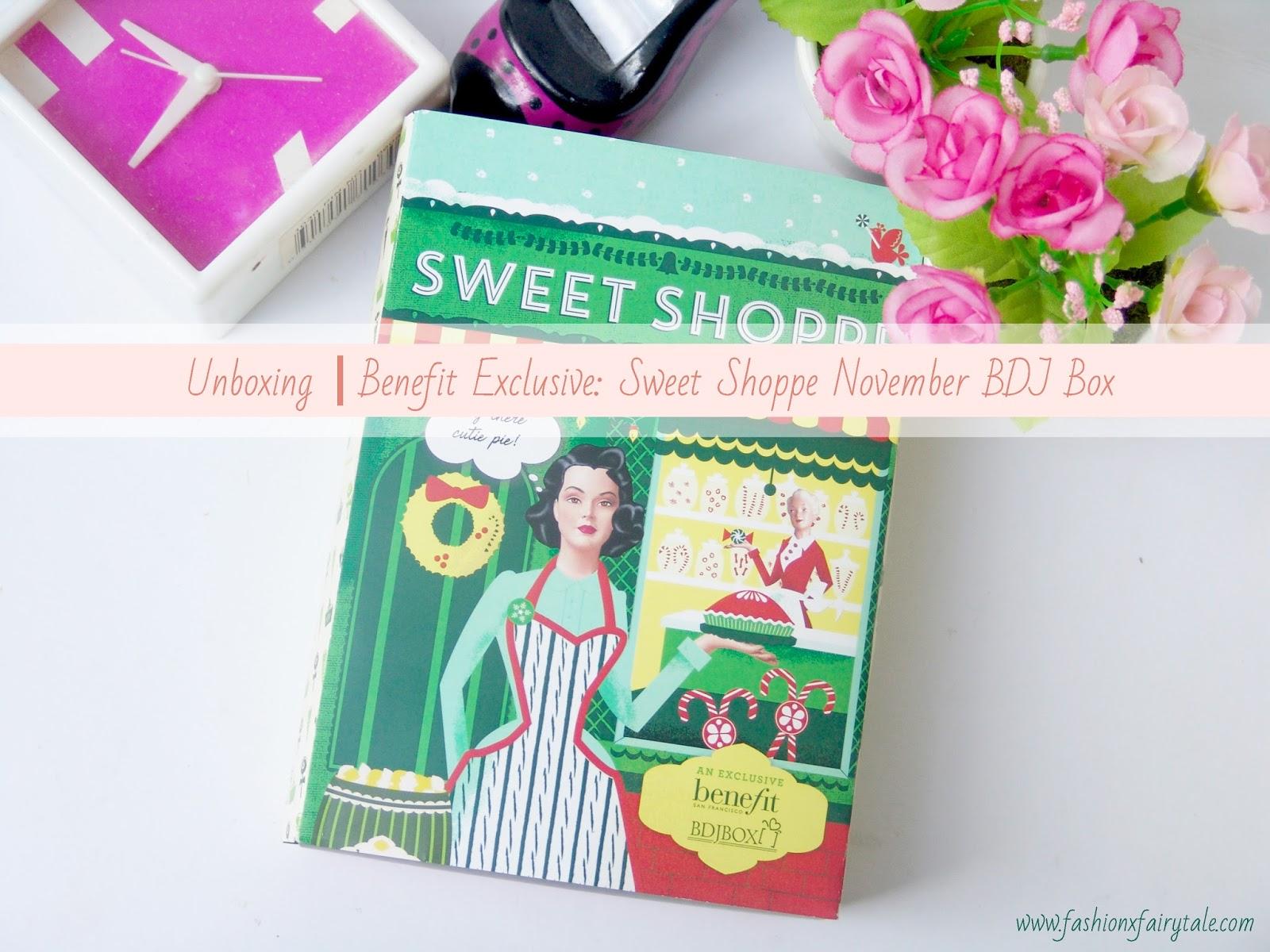 Unboxing | Benefit Exclusive: Sweet Shoppe November BDJ Box