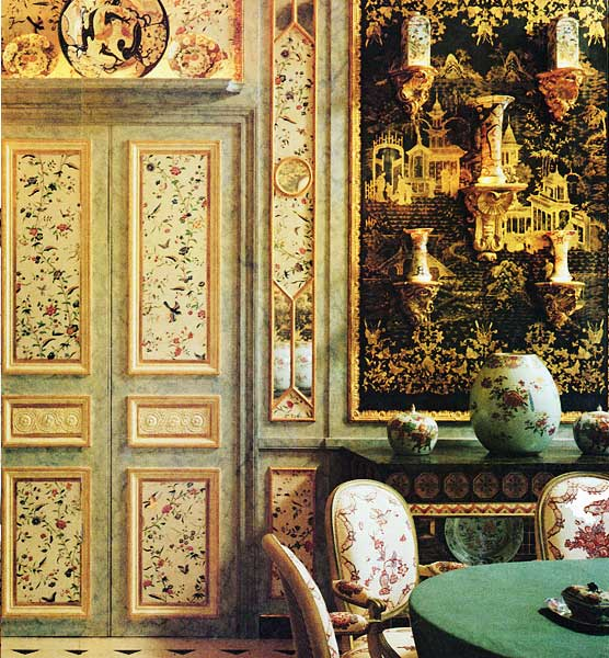 Chinoiserie Chic A Chinoiserie Dining Room
