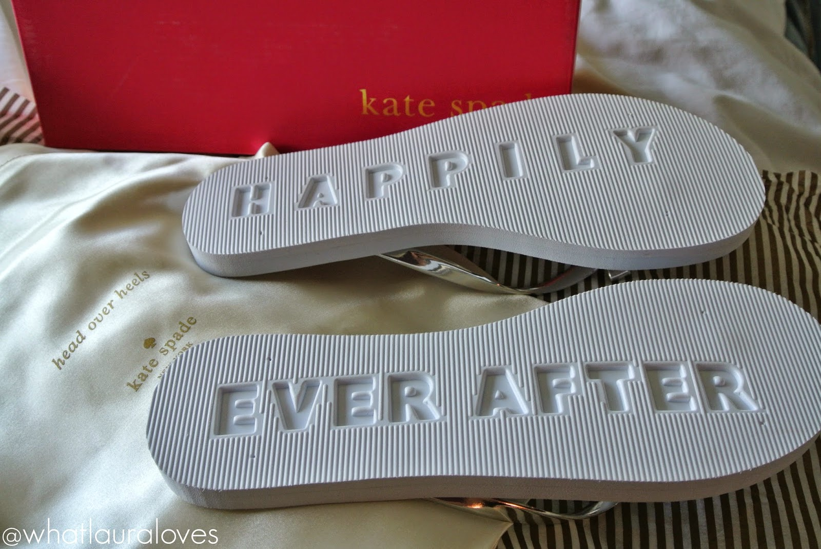 Kate Spade Happily Ever After Range Wedding Flip Flops