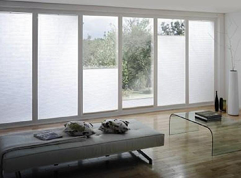Top Down Bottom Up Floor-to-Ceiling Shades