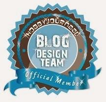 Ik zit in het designteam van het Hobbyjournaal blog