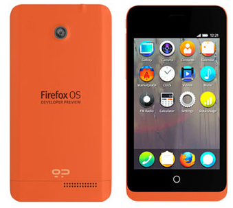 Geeksphone Keon with Firefox OS Specs