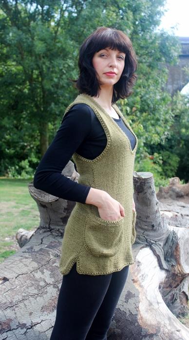 kamizelka na drutach