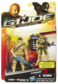 Hasbro GI Joe Retaliation Kwinn Figure