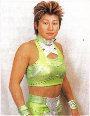 AKINO - Japanese Female Wrestling
