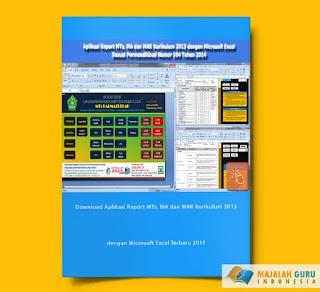 Download Aplikasi Raport MTs, MA dan MAK Kurikulum 2013 dengan Microsoft Excel Terbaru 2015