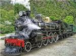 قطارات بخارية قديمة