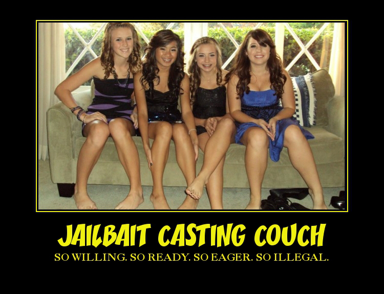 Jailbait casting couch