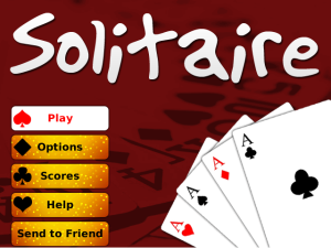 Solitaire With Blackberry Messenger Connect