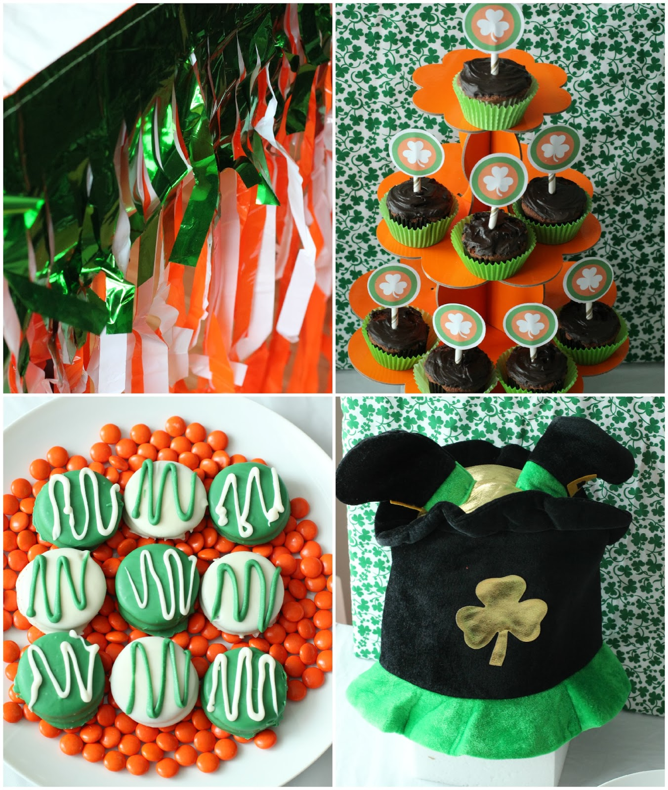 Awesome St. Patrick's Day party ideas and free printables from playpartypin.com #parties #StPatricksDay #partygames #freeprintables