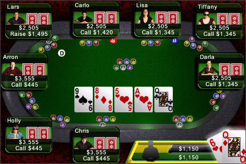 Texas holdem by apple