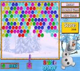 imagem  Bubble Olaf jogo online