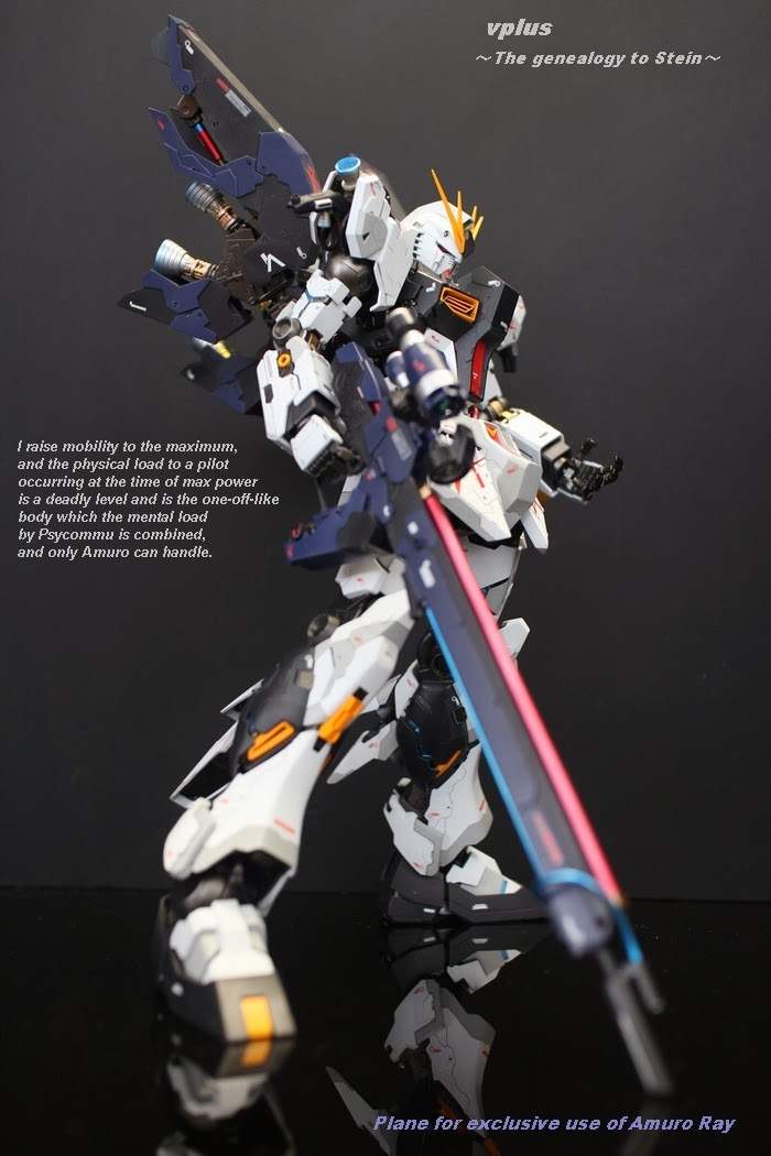 v plus custom gundam build