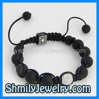 Shamballa Bracelet Onyx5