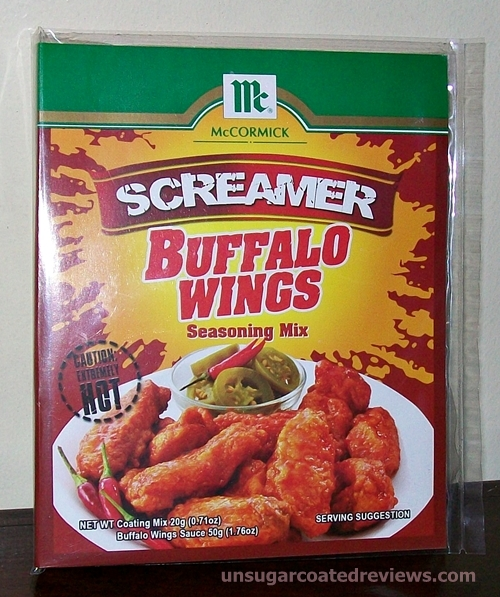McCormick Buffalo Wings Seasoning Mix (Screamer Flavor)