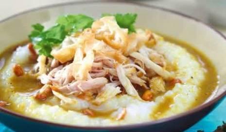 Resep Bubur Ayam yang lezat