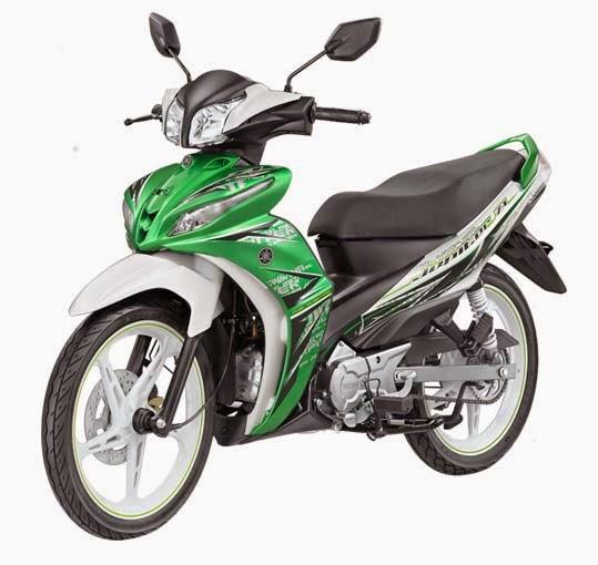 Yamaha Jupiter Z1 Green Hornet