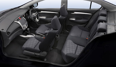 2013 Honda City Interior