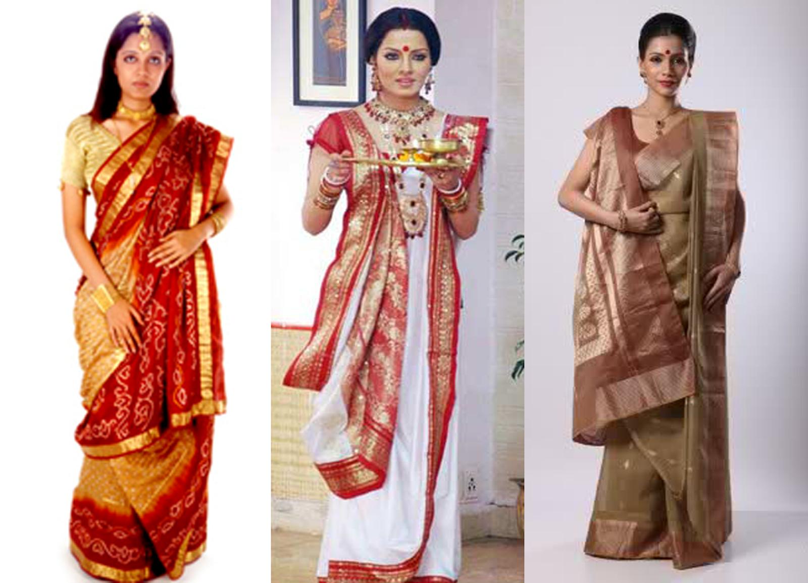bengalí vestir