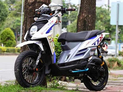 Modifikasi Lampu Yamaha X Ride