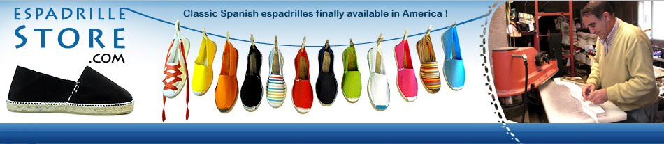 The Espadrilles, canvas shoes made in Spain - European fashion Ecological footwear - NEW
