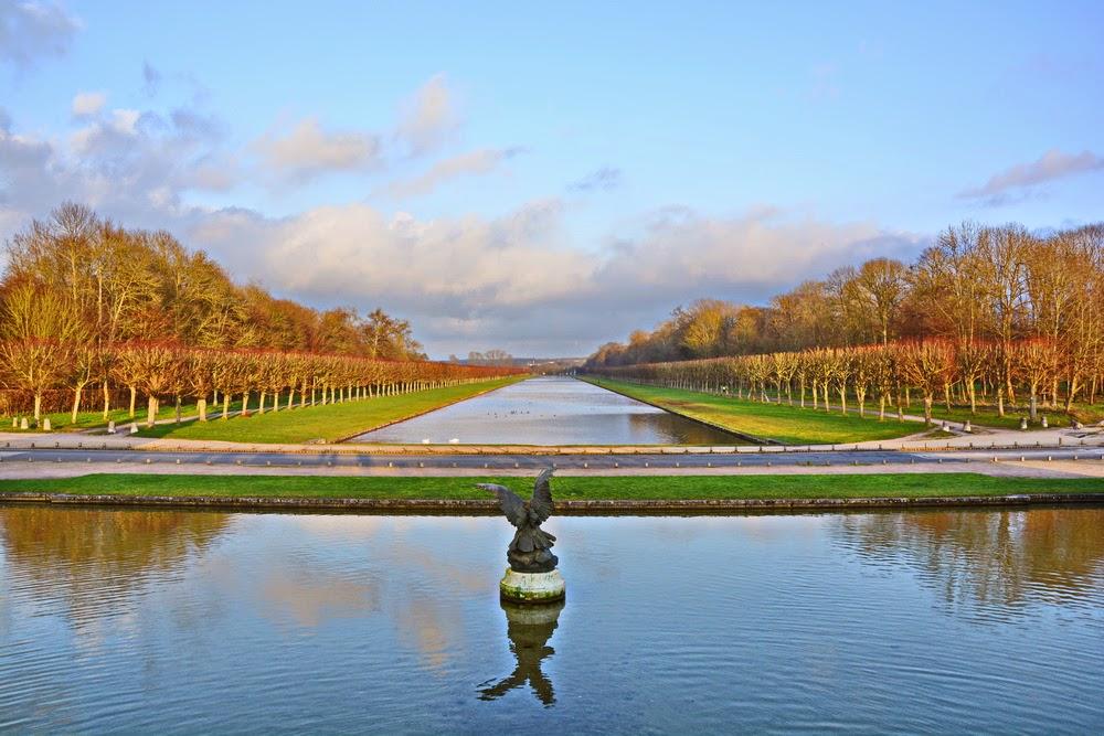 jardin du chateau de fontainebleau
