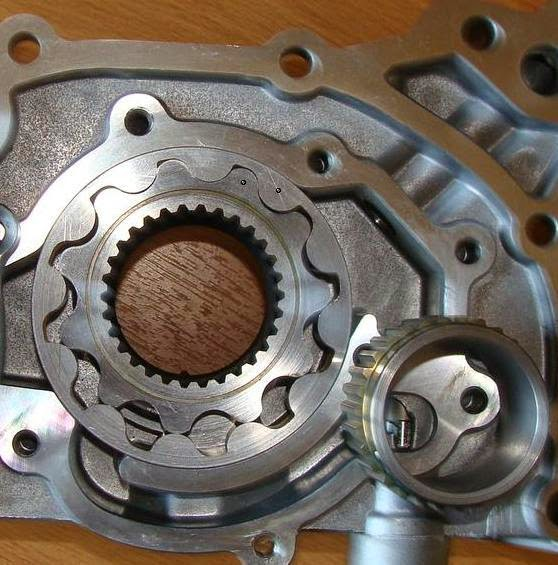Spline Drive Oil Pump Gears