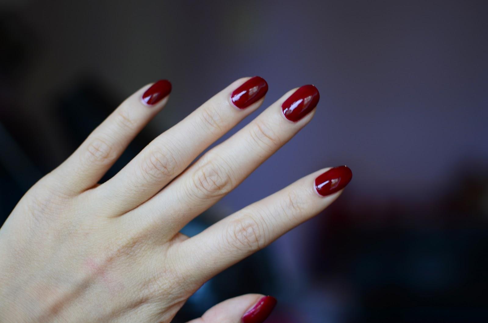 fun size beauty: The Body Shop Colour Crush Nail Polishes [Crimson ...
