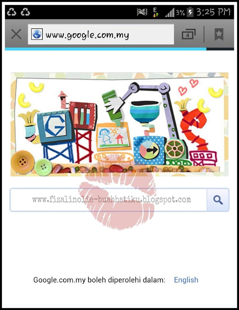 Logo Google Bersempena Hari Ibu 2013