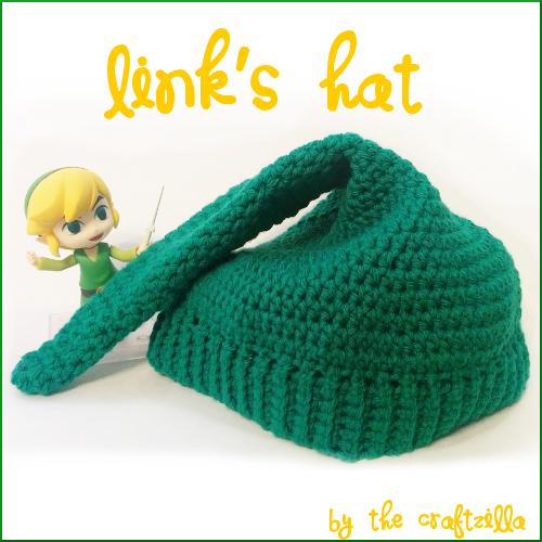 The Craftzilla Links Hat