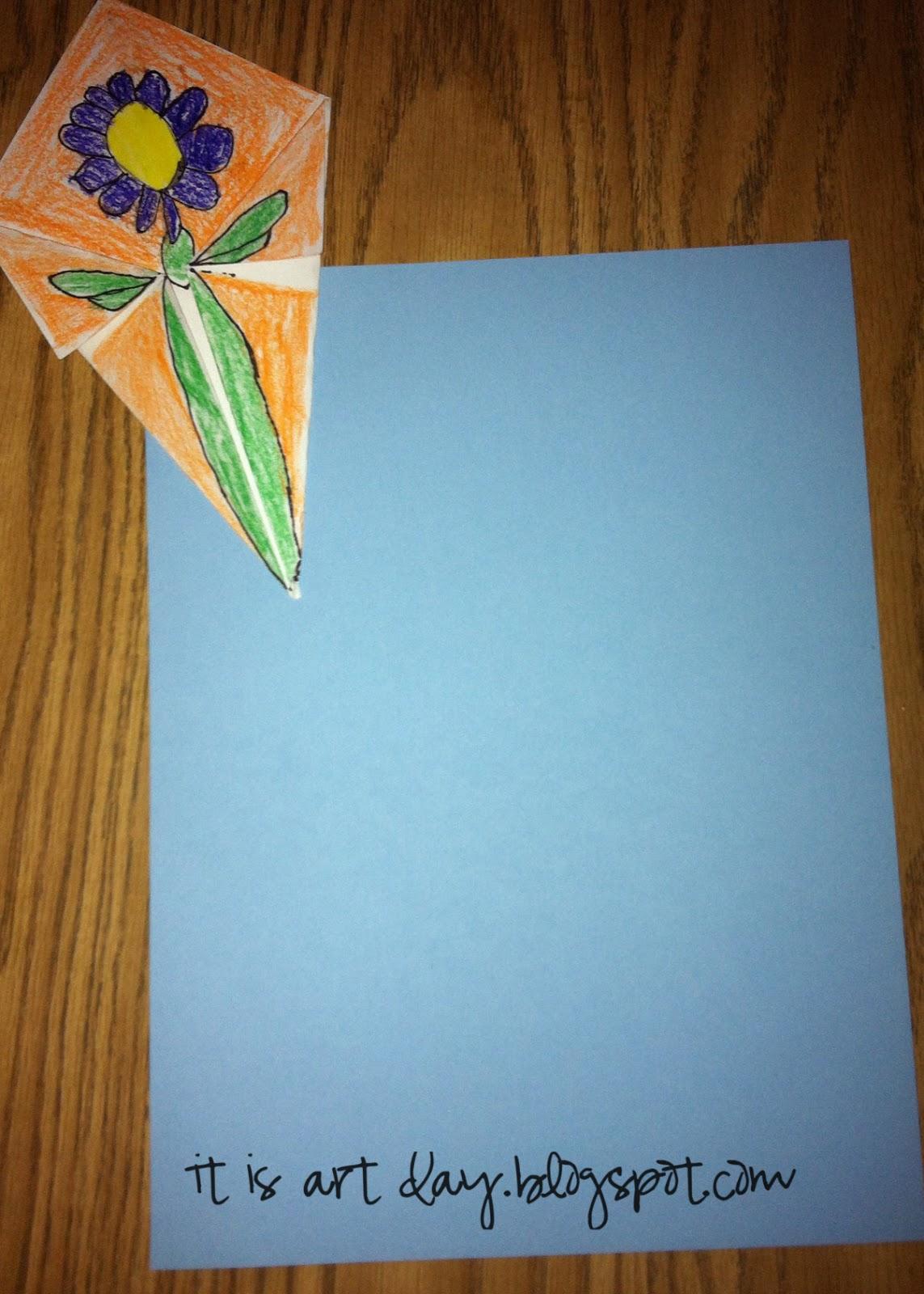 its art day spring origami kites