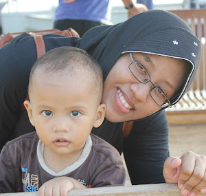 it's me n Ahsan, my youngest son