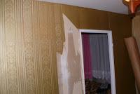 Usuwanie starych tapet za ścian, porady