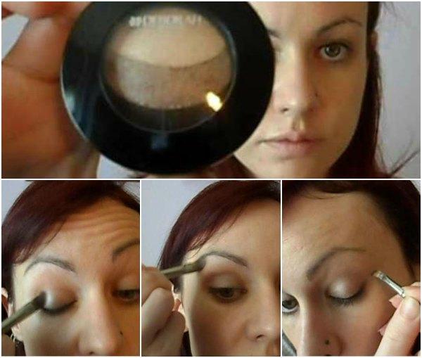 Maquillaje en tonos marrones con productos Deborah Milano