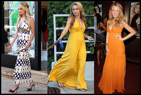 Celebrity Style: Maxi Dresses - Emily's Anthology - a Malaysian ...