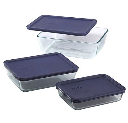 Pyrex Simply Store 6pcs Set RM129 only