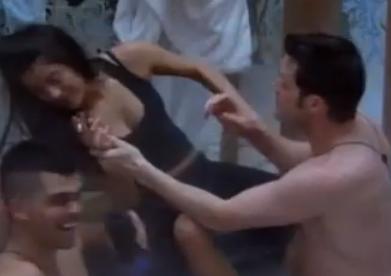 Big Brother Canada 1 Talla Drunk Hot Tub