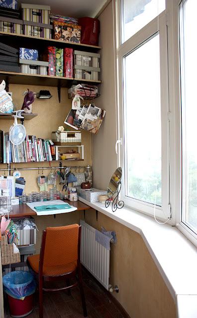 Мастерская на балконе - самое интересное в блогах.