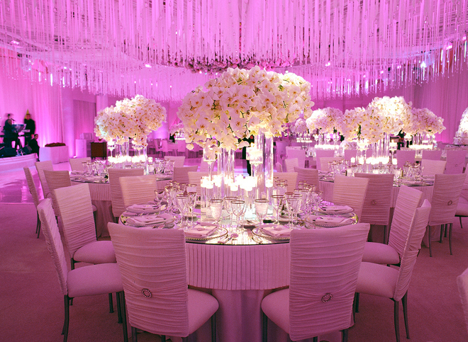 Wedding receptions to die for belle the magazine for Wedding banquet decorations