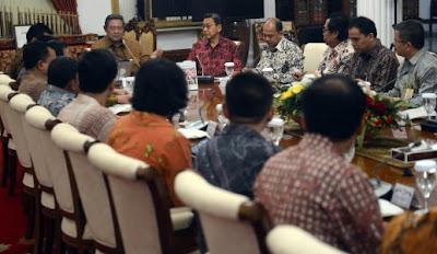 Ketika SBY Bertemu Pemred Media
