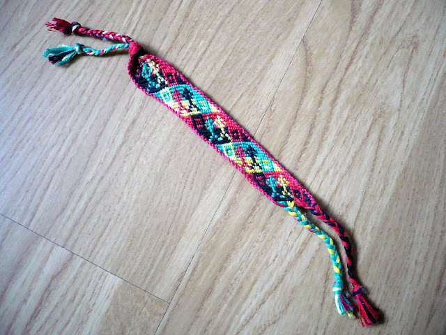 Friendship Bracelet X Pattern3