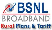 BSNL Broadband Rural Plans