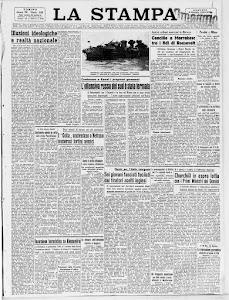 LA STAMPA 2 MAGGIO 1944