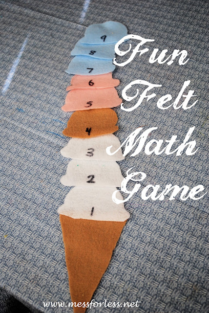 Ice Cream Math Games, #math, #preschool