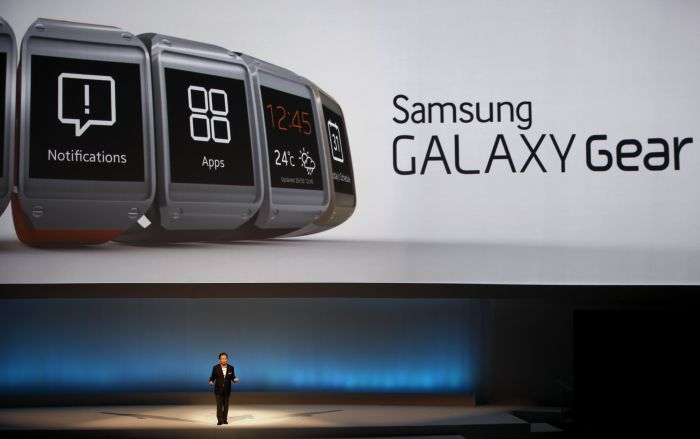 Samsung Galaxy Gear Smartwatch was launched in India with ...