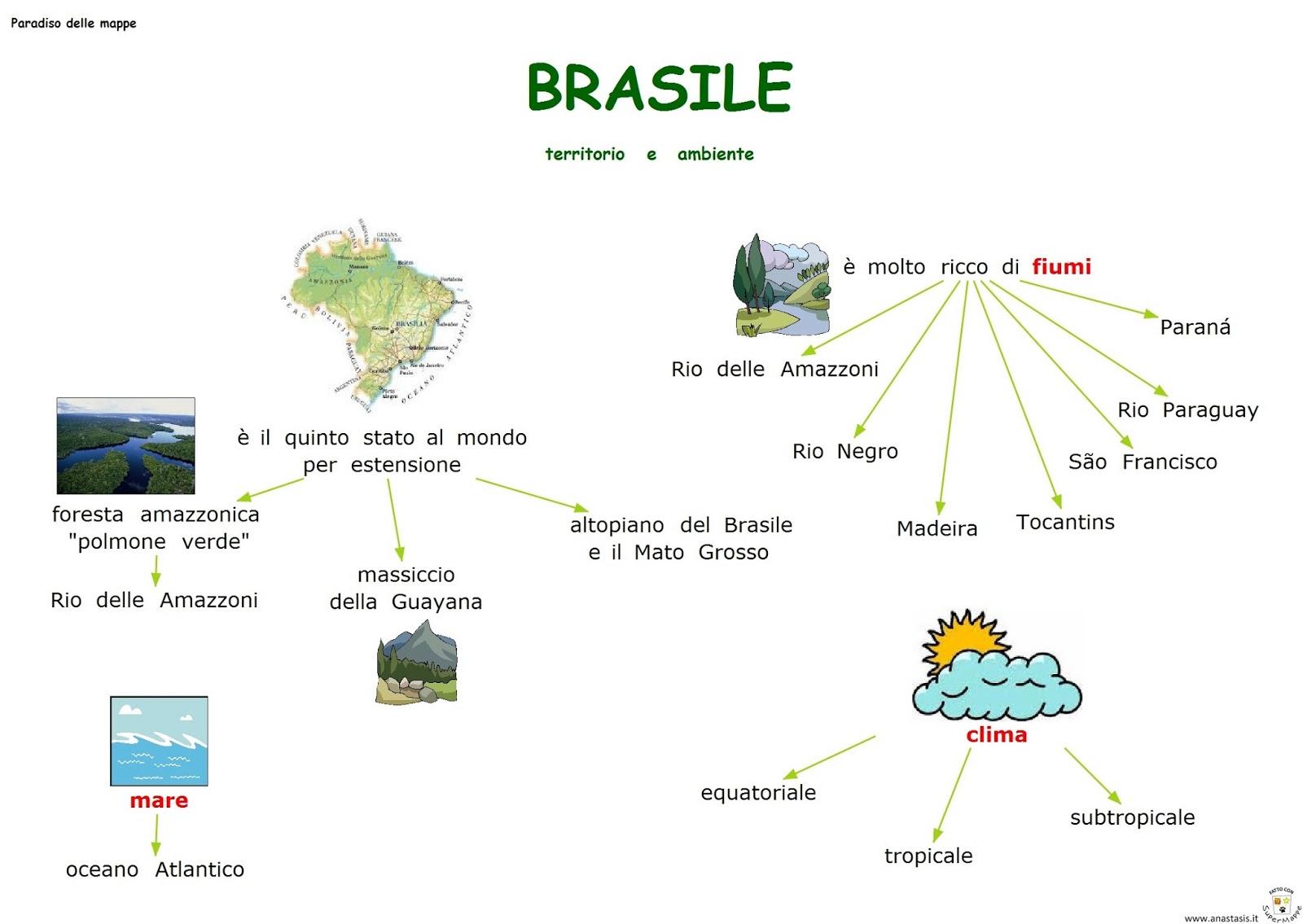 Paradiso delle mappe brasile territorio e ambiente for Interno delle piantagioni del sud