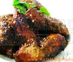 Sayap Ayam Madu Pedas yang Nikmat!