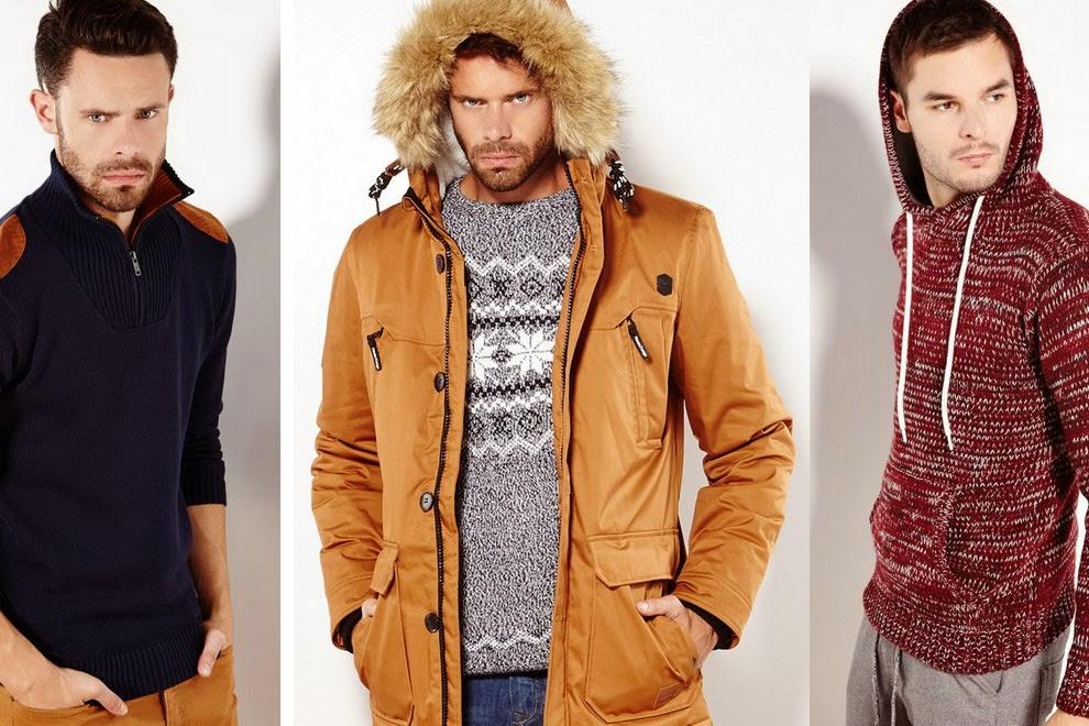 Мужская зимняя мода