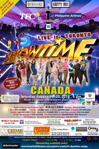 It's Showtime Live in Toronto
